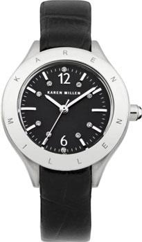 fashion наручные  женские часы Karen Millen KM109BX. Коллекция Classic