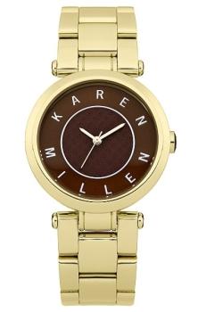 fashion наручные  женские часы Karen Millen KM110GM. Коллекция Classic