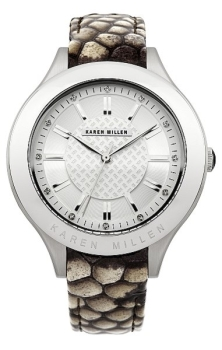 fashion наручные  женские часы Karen Millen KM124U. Коллекция Be in trend