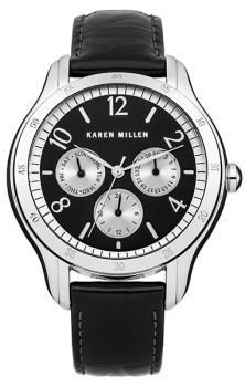 fashion наручные  женские часы Karen Millen KM129B. Коллекция AW-2013