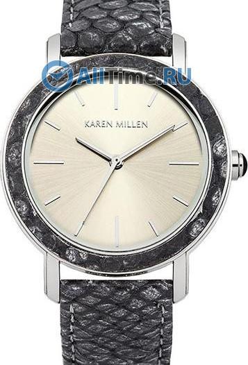 Женские наручные fashion часы в коллекции Snake Karen Millen