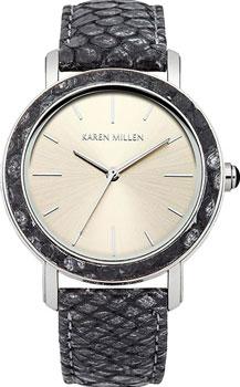 fashion наручные  женские часы Karen Millen KM137E. Коллекция AW-4