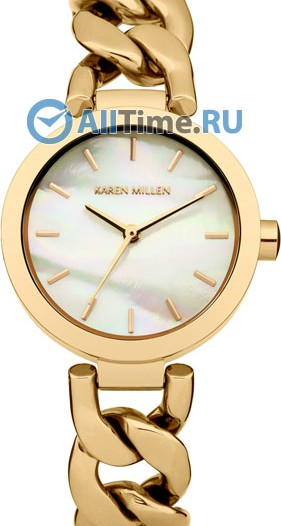 Женские наручные fashion часы в коллекции AW-14-15 Karen Millen