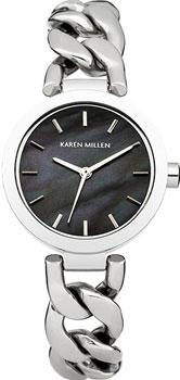 fashion наручные  женские часы Karen Millen KM143SM. Коллекция AW-4