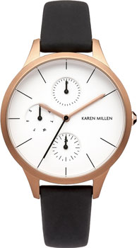 fashion наручные  женские часы Karen Millen KM144BRG. Коллекция Autum6
