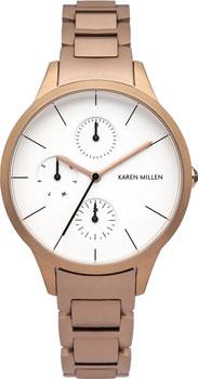 fashion наручные  женские часы Karen Millen KM144RGM. Коллекция Autum6
