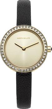 fashion наручные  женские часы Karen Millen KM146BG. Коллекция AW-4