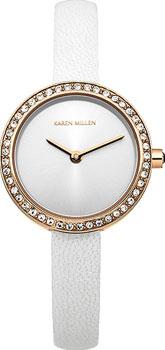 fashion наручные  женские часы Karen Millen KM146WRG. Коллекция AW-4