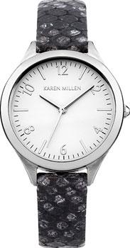fashion наручные  женские часы Karen Millen KM150B. Коллекция AW-4