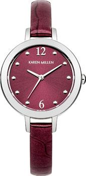 fashion наручные  женские часы Karen Millen KM152V. Коллекция AW-4