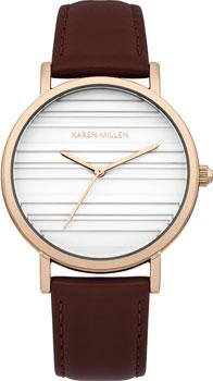 fashion наручные  женские часы Karen Millen KM154VRG. Коллекция Autum6