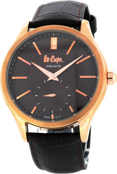 fashion наручные  мужские часы Lee Cooper LC-62G-H. Коллекция Heritage