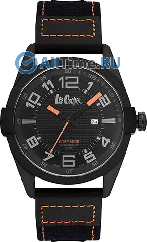 Мужские наручные fashion часы в коллекции Commando Lee Cooper