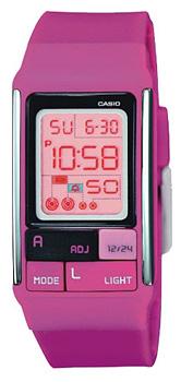 Японские наручные  женские часы Casio LDF-52-4A. Коллекция Standart