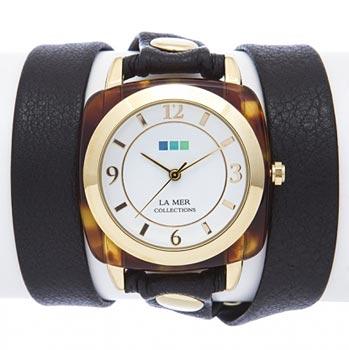 fashion наручные  женские часы La Mer LMACETATE001. Коллекция На длинном ремешке