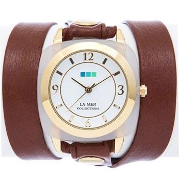 fashion наручные  женские часы La Mer LMACETATE004. Коллекция На длинном ремешке