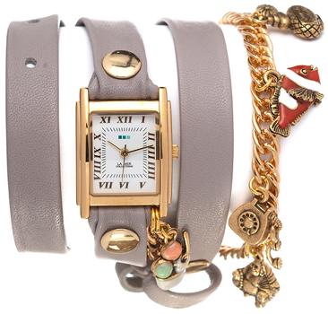 fashion наручные  женские часы La Mer LMCW1001. Коллекция С цепочками и подвесками