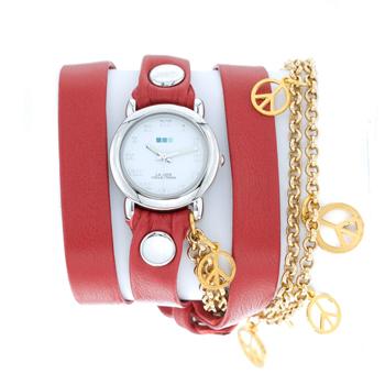 fashion наручные  женские часы La Mer LMCW1005-R. Коллекция С цепочками и подвесками