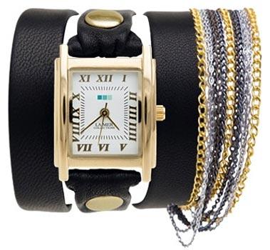 fashion наручные  женские часы La Mer LMCW1008G. Коллекция С цепочками и подвесками