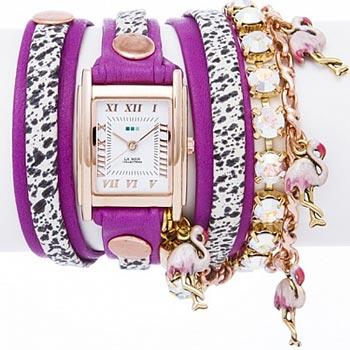 fashion наручные  женские часы La Mer LMCW2002X. Коллекция С цепочками и подвесками