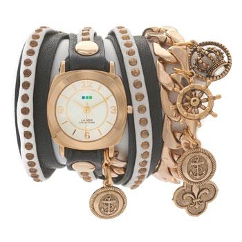 fashion наручные  женские часы La Mer LMCW2003. Коллекция С цепочками и подвесками