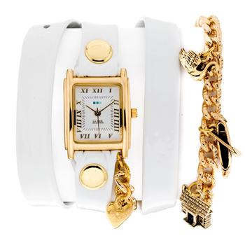 fashion наручные  женские часы La Mer LMCW4020C. Коллекция С цепочками и подвесками