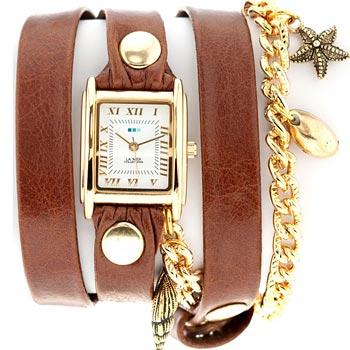fashion наручные  женские часы La Mer LMCW4021X. Коллекция С цепочками и подвесками