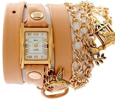fashion наручные  женские часы La Mer LMCW6002. Коллекция С цепочками и подвесками