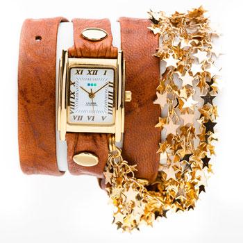 fashion наручные  женские часы La Mer LMCW6005. Коллекция С цепочками и подвесками