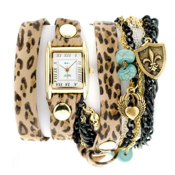 fashion наручные  женские часы La Mer LMCW7000. Коллекция С цепочками и подвесками