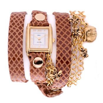 fashion наручные  женские часы La Mer LMCW7003. Коллекция С цепочками и подвесками