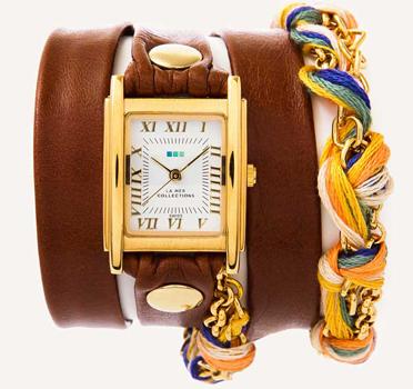 fashion наручные  женские часы La Mer LMCW9001. Коллекция С цепочками и подвесками