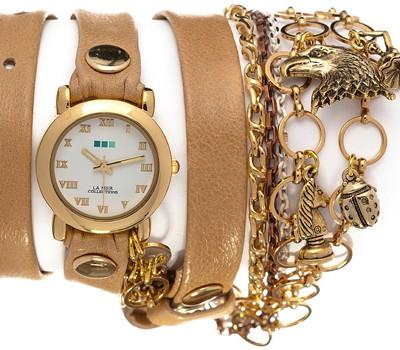 fashion наручные  женские часы La Mer LMCW9003. Коллекция С цепочками и подвесками