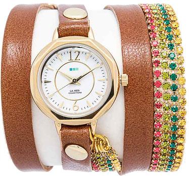 fashion наручные  женские часы La Mer LMDELCRY1502. Коллекция С цепочками и подвесками
