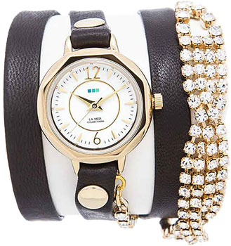 fashion наручные  женские часы La Mer LMDELCRY1503. Коллекция С цепочками и подвесками