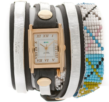 fashion наручные  женские часы La Mer LMGUAT001. Коллекция С цепочками и подвесками