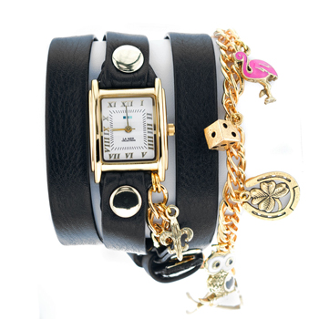 fashion наручные  женские часы La Mer LMHCW2005-A. Коллекция С цепочками и подвесками