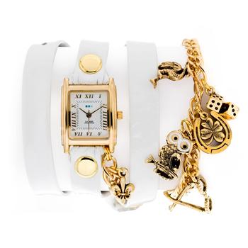 fashion наручные  женские часы La Mer LMHCW2005B. Коллекция С цепочками и подвесками