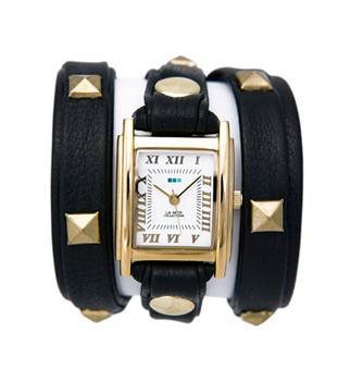 fashion наручные  женские часы La Mer LMLW1010A. Коллекция С клепками