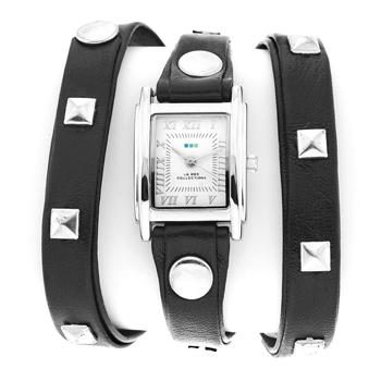 fashion наручные  женские часы La Mer LMLW1010B. Коллекция С клепками