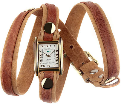 fashion наручные  женские часы La Mer LMLW5000X. Коллекция На длинном ремешке