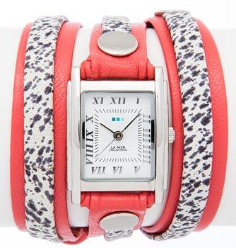 fashion наручные  женские часы La Mer LMLW7012X. Коллекция На длинном ремешке