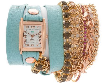 fashion наручные  женские часы La Mer LMMULTI2003. Коллекция С цепочками и подвесками