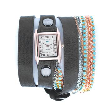 fashion наручные  женские часы La Mer LMMULTI3006. Коллекция С цепочками и подвесками