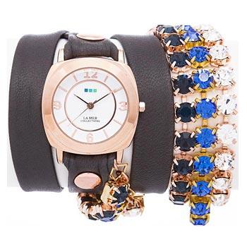 fashion наручные  женские часы La Mer LMMULTI5004X. Коллекция С цепочками и подвесками