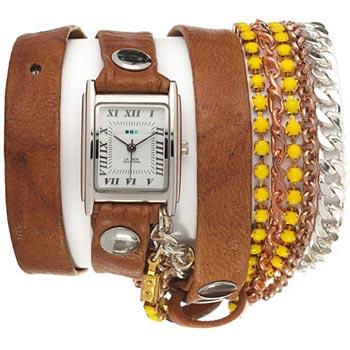 fashion наручные  женские часы La Mer LMMULTI9000X. Коллекция С цепочками и подвесками