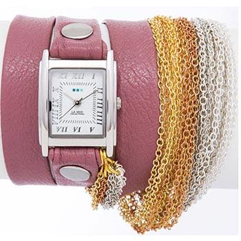fashion наручные  женские часы La Mer LMMULTICW3001BX. Коллекция С цепочками и подвесками
