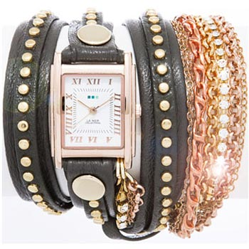 fashion наручные  женские часы La Mer LMMULTISW003X. Коллекция С цепочками и подвесками