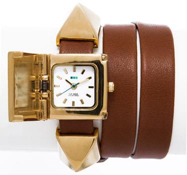 fashion наручные  женские часы La Mer LMPYRAMID001. Коллекция На длинном ремешке