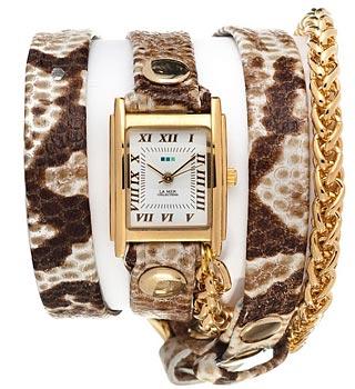 fashion наручные  женские часы La Mer LMSCW2014X. Коллекция С цепочками и подвесками